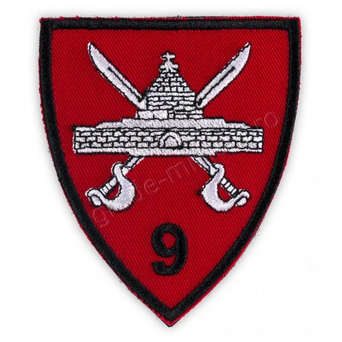 """Emblema Brigada 9 Mecanizata """"Marasesti"""""""