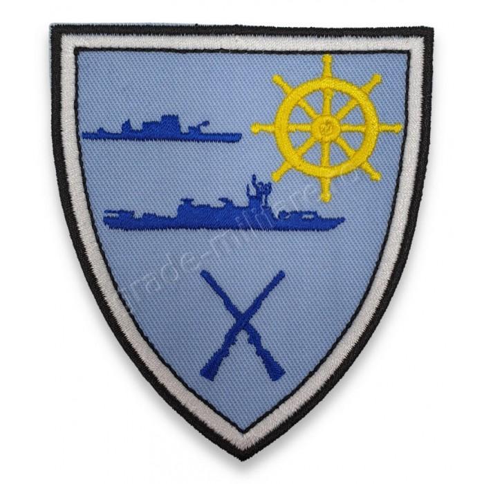 """Emblema pentru Comandamentul Flotilei Fluviale """"Mihail Kogalniceanu"""""""