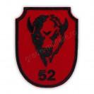 "Emblema Regimentul 52 Artilerie Mixta ""General Alexandru Tell"""