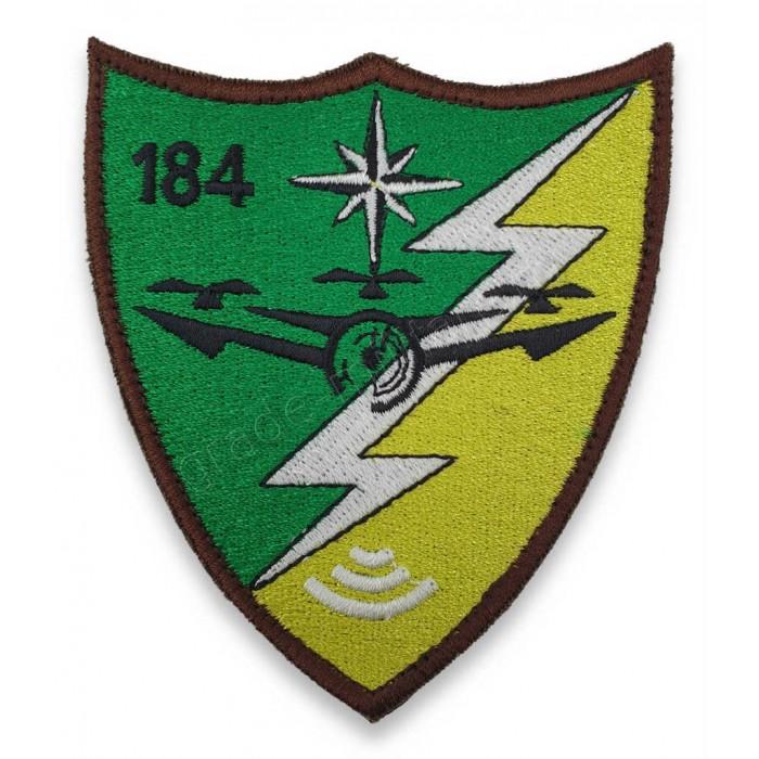 Emblema Batalion 184 Senzori si Aparare Antiaeriana pentru instructie