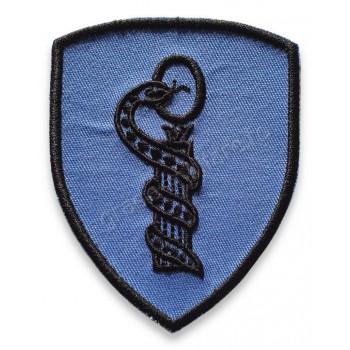 Emblema semn de arma maneca scut combat albastru Forte Aeriene
