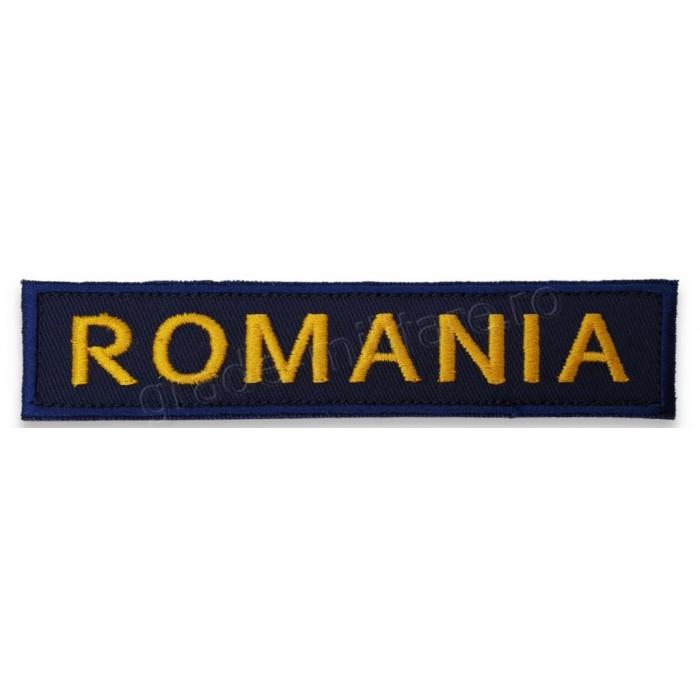 Ecuson ROMANIA bleumarin | Emblema Politia de Frontiera | Emblema Politia Romana