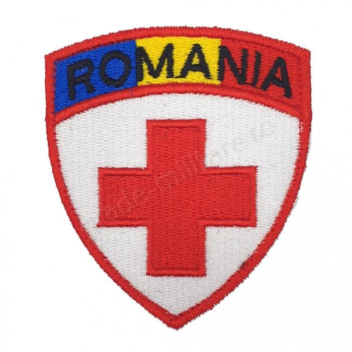 Emblema Serviciul Medical cu Drapel