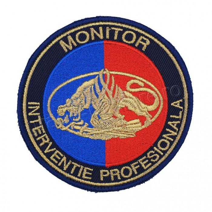 Emblema Monitor Interventie Profesionala