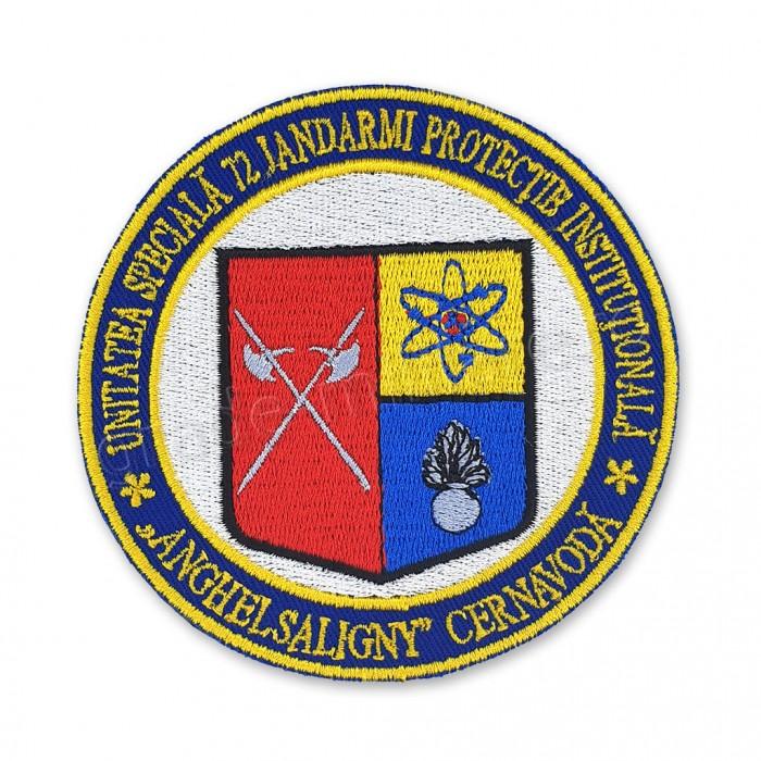 Emblema Unitatea Speciala 72 Jandarmi Protectie Institutionala Anghel Saligny Cernavoda