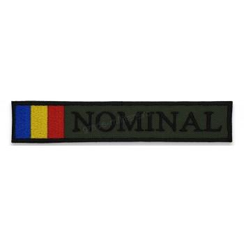 Ecuson Romania cu Drapel - kaki