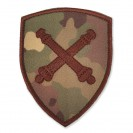 Emblema semn de arma maneca scut combat Forte Terestre