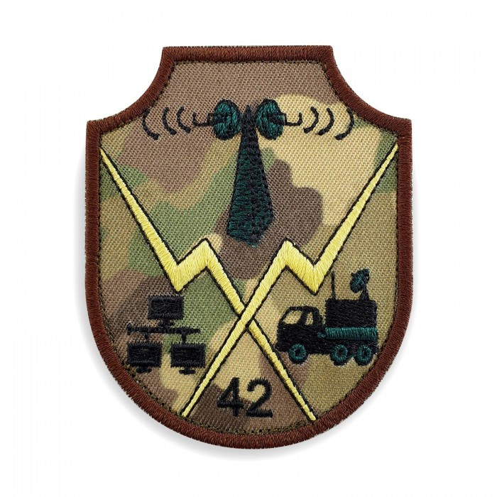 Emblema Centrul 42 Comunicatii si Informatica de Sprijin