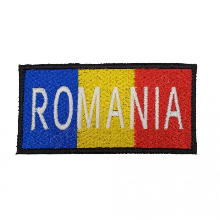 "Ecuson tricolor ""ROMANIA"""