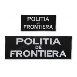 "Emblema ""POLITIA DE FRONTIERA"""