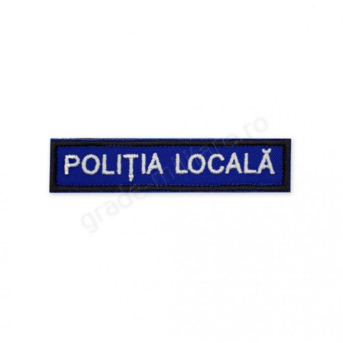 """Emblema """"POLITIA LOCALA"""""""