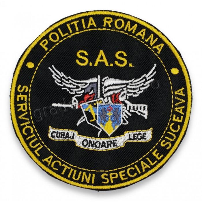 Emblema Serviciul Actiuni Speciale Suceava