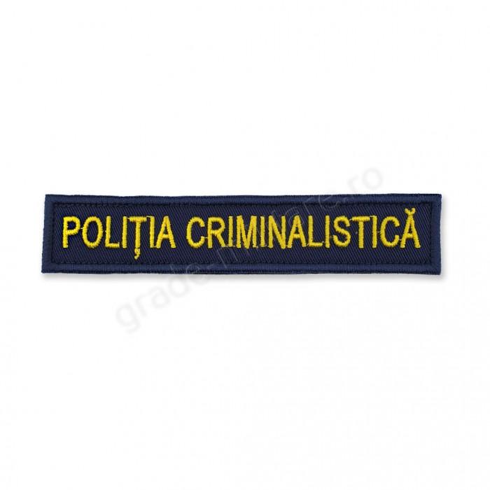 Emblema INVESTIGATII CRIMINALE