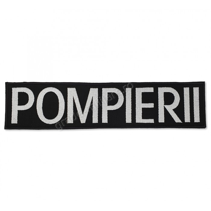Emblema POMPIERII spate