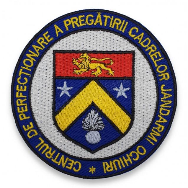 Emblema Centrul de Perfectionare a Pregatirii Cadrelor Jandarmi Ochiuri