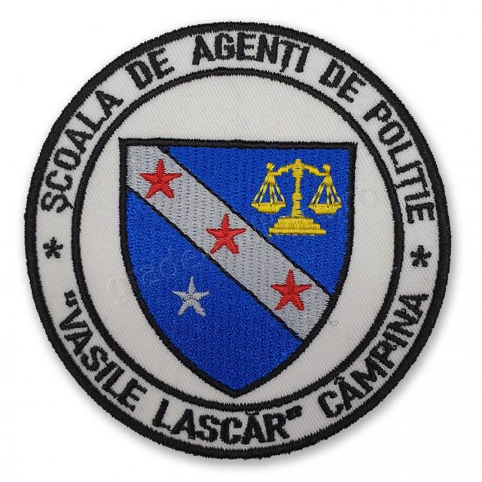"Emblema Scoala de Agenti de Politie ""Vasile Lascar"" Campina"