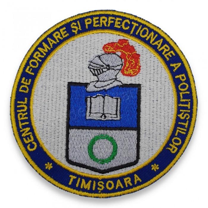 Emblema Centrul de Formare si Perfectionare a Politistilor Timisoara