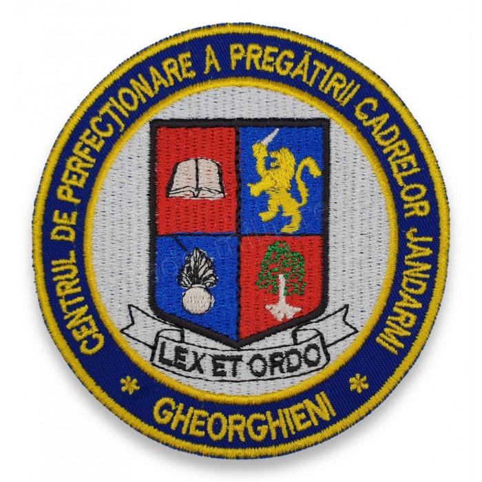 Emblema Centrul de Perfectionare a Pregatirii Cadrelor Jandarmi Gheorgheni