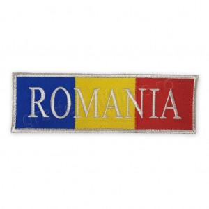 Emblema Drapel Romania 22x7 cm