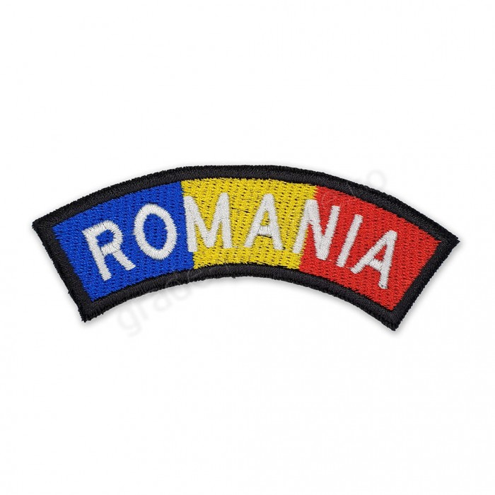 Ecuson arcada tricolor romania - VAMA