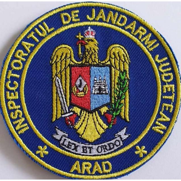 Emblema Inspectoratul de jandarmi judetean Arad , emblema IJJ ARAD