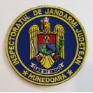 Emblema Inspectoratul de jandarmi judetean Hunedoara , emblema IJJ Hunedoara