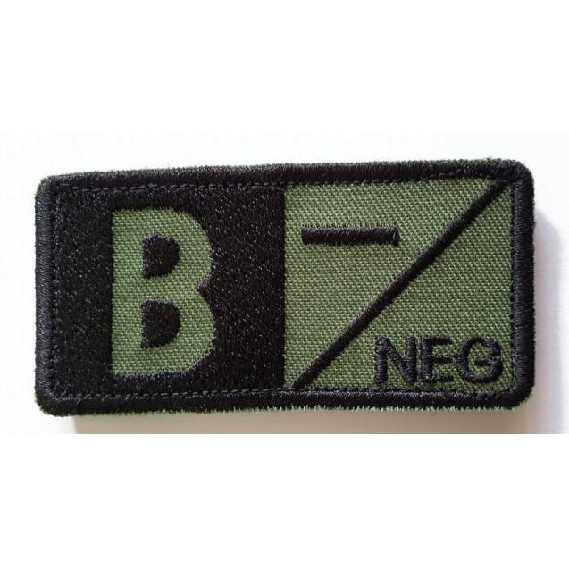 Ecuson grupa sanguina B NEG
