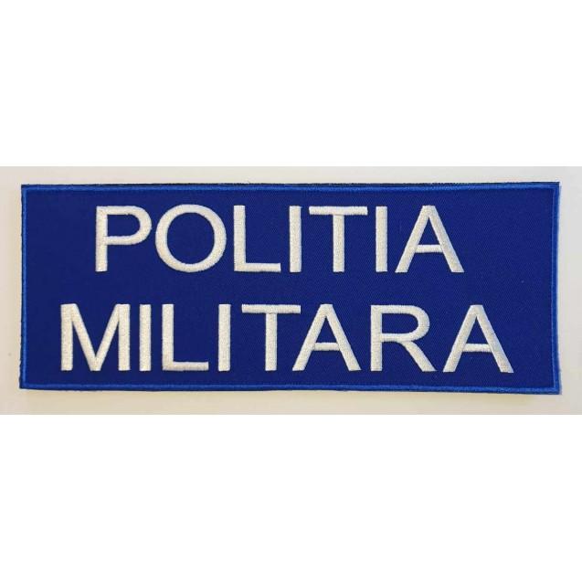 Emblema Politia Militara spate