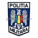 Ecuson maneca Politia Militara 10,5x7cm