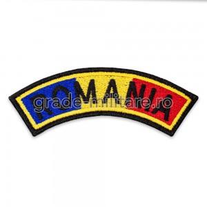 Ecuson drapel semirotund Romania