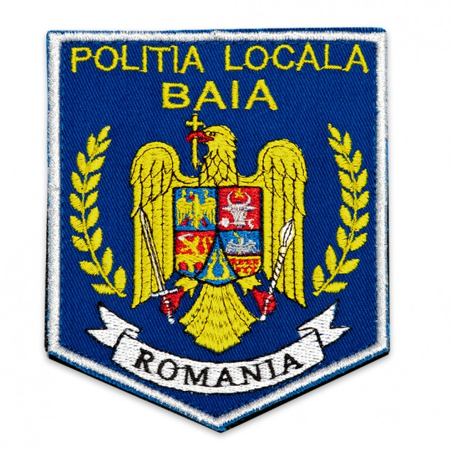 Emblema brodata Politia Locala 6