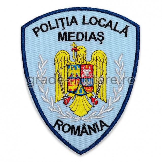 Emblema brodata Politia Locala 5 personalizabila