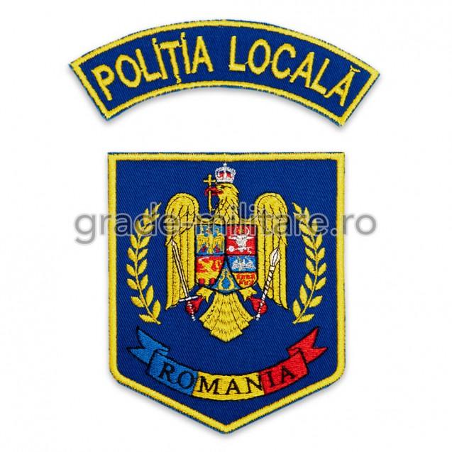 Emblema brodata Politia Locala