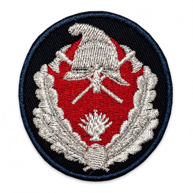 Emblemă coifură subofițeri pompieri IGSU - fir metalic