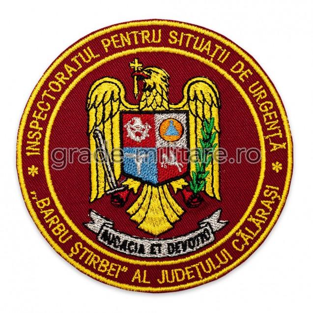 Emblema ISU Calarași brodată