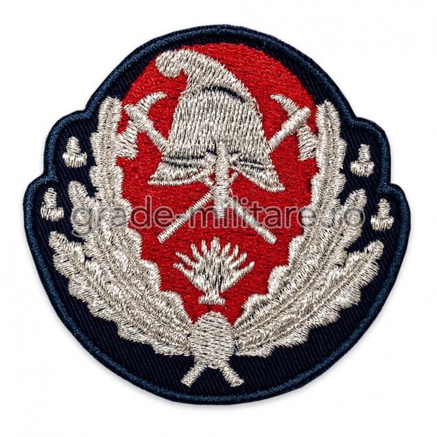 Emblemă coifură ofițeri pompieri IGSU