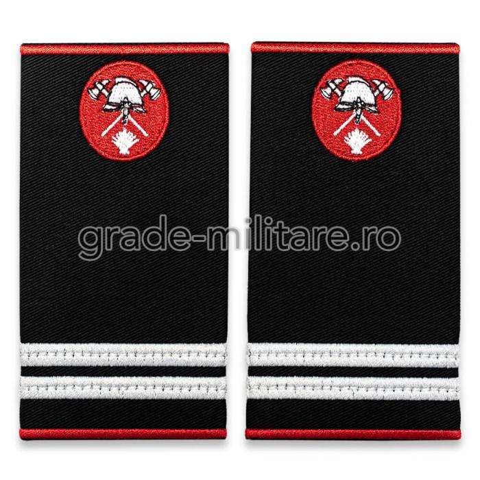Grade locotenent pompieri