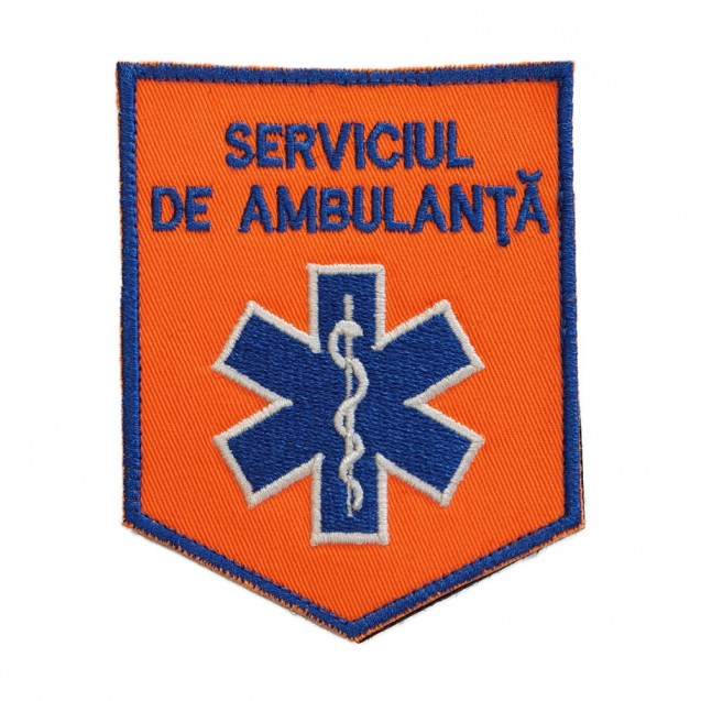 Emblema ambulanta maneca FN