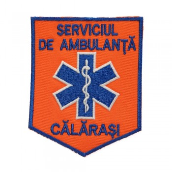 Emblema ambulanta SMURD  maneca