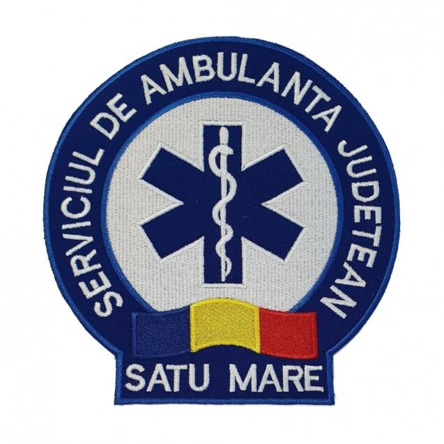 Emblema Ambulanta SAJ spate