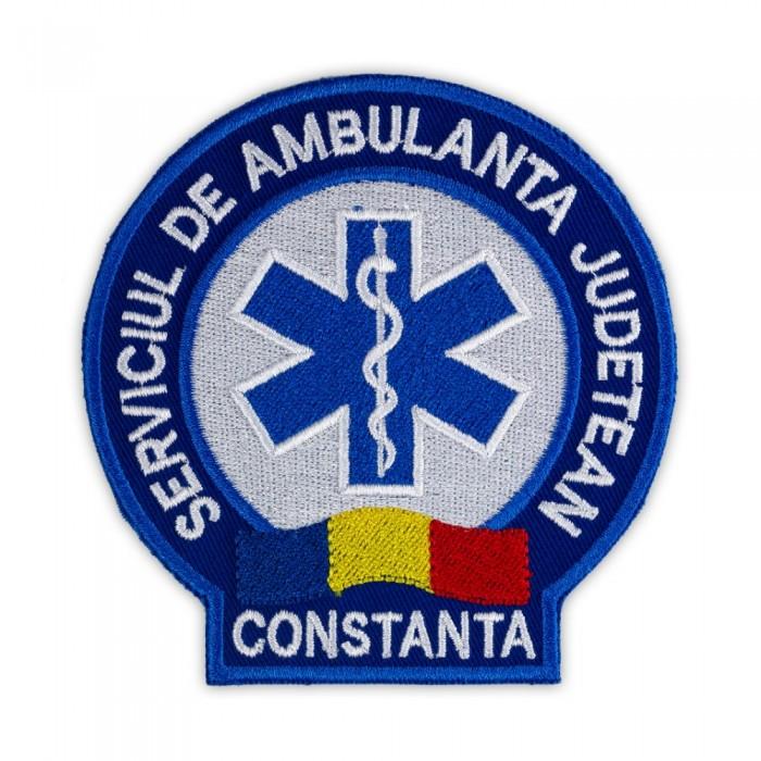 Emblema Ambulanta SAJ maneca