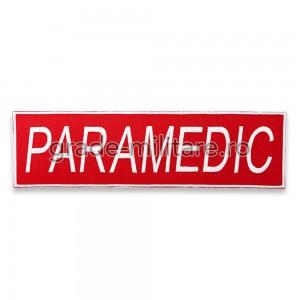Emblema PARAMEDIC pentru spate
