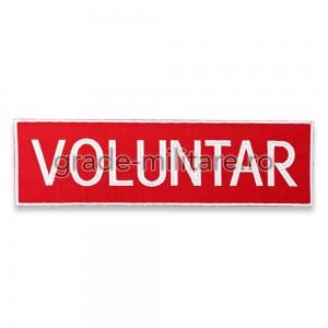 Emblema VOLUNTAR SMURD spate