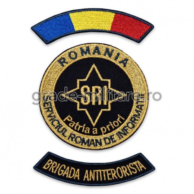 Embleme Serviciul Roman de Informatii Ofiteri Brigada Antiterorista