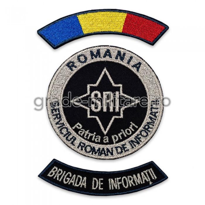 Emblema Serviciul Roman de Informatii SRI, Subofiteri Brigada de Informatii