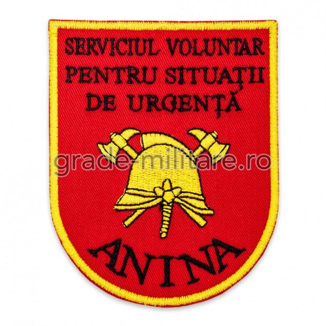Emblema serviciul  voluntar pentru situatii de urgenta Anina