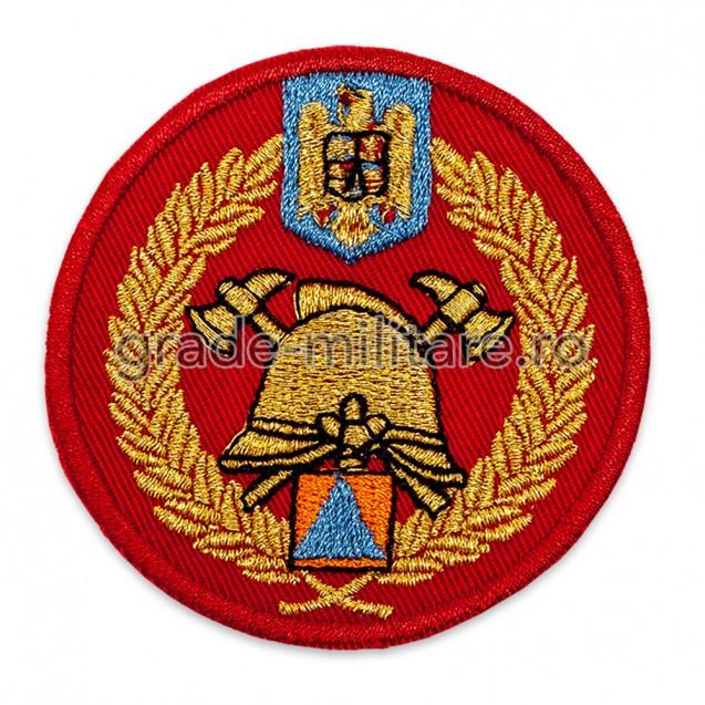 Emblema coifura SVSU brodata