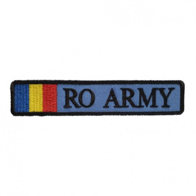Ecuson RO ARMY cu drapel Aviatia militara