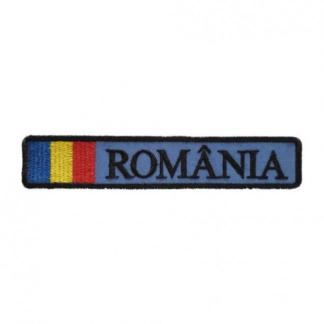 Ecuson Romania cu drapel Aviatia militara