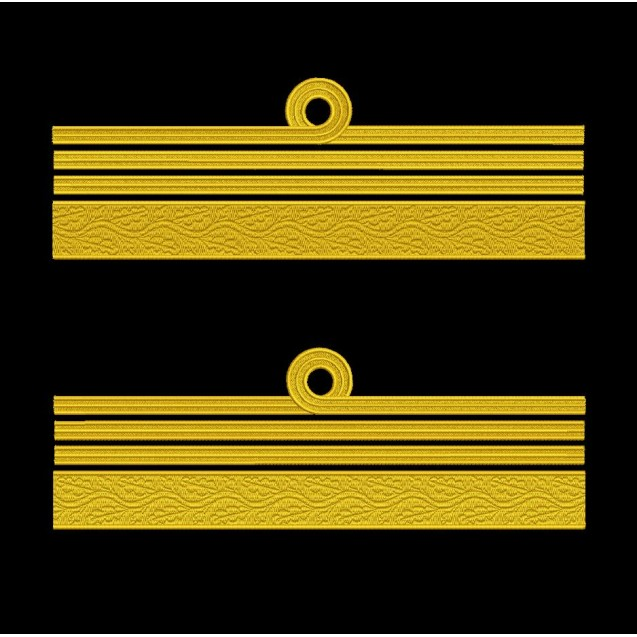 Grade maneca pentru Comandor de Marina Militara